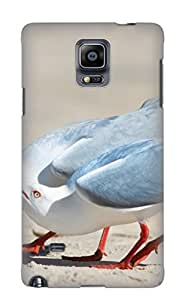 Fashion Tpu Case For Galaxy Note 4- Animal Seagull Defender Case Cover For Lovers