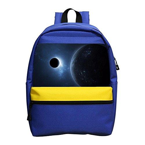 Solar Eclipse Mini Backpack Kids School Bag Small Daypack For Little Girls / Boys