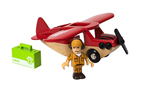 BRIO 33963 World-Safari Airplane, (Brio Sky Train)