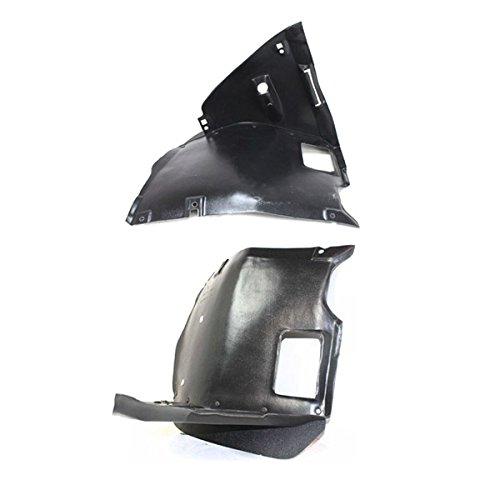 Koolzap For 99-06 3-Series Front Splash Shield Inner Fender Liner Panel Left Right SET PAIR