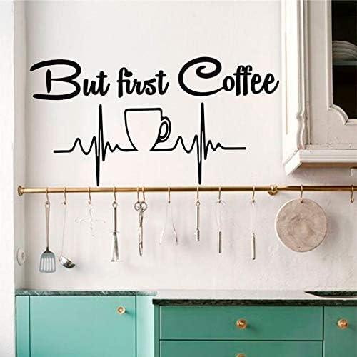 yaonuli Pero la Primera Taza de café Cocina Apliques Decorativos ...