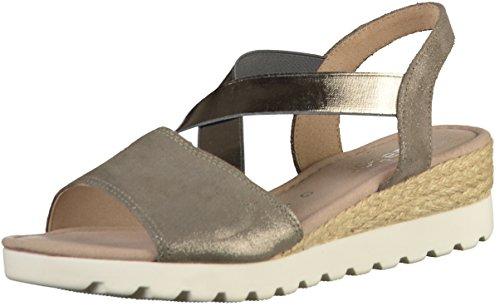 Gabor Sandalette Comodidad Deporte En Más De 82.754.47 Zapatos Negros Grandes Damas Tamaños Gris (marta (yute)) Descuento para Niza Sol Entrega rápida Precio barato OdgeG