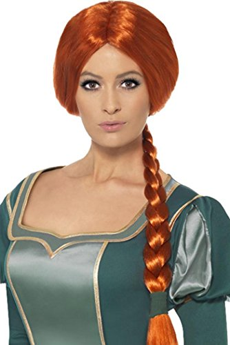 Ladies Fancy Dress Party Costume False Hair Shrek Princess Fiona Wig (Princess Fiona Shrek Wig)