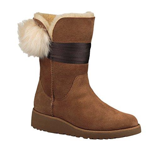 Womens boots, colour Black , brand UGG, model Womens Boots UGG W BRITA Black Chestnut