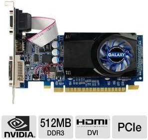 Galaxy GeForce 8400 GS 512MB DDR3 Video Card