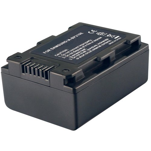 Samsung HMX-H200 Camcorder Battery Lithium Ion (2400 mAh 3.7v) - Replacement For Samsung IA-BP210E Battery