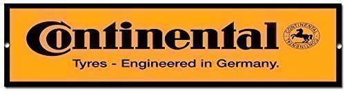 Continental Tyres quality metal garage sign Vintage Sign Designs