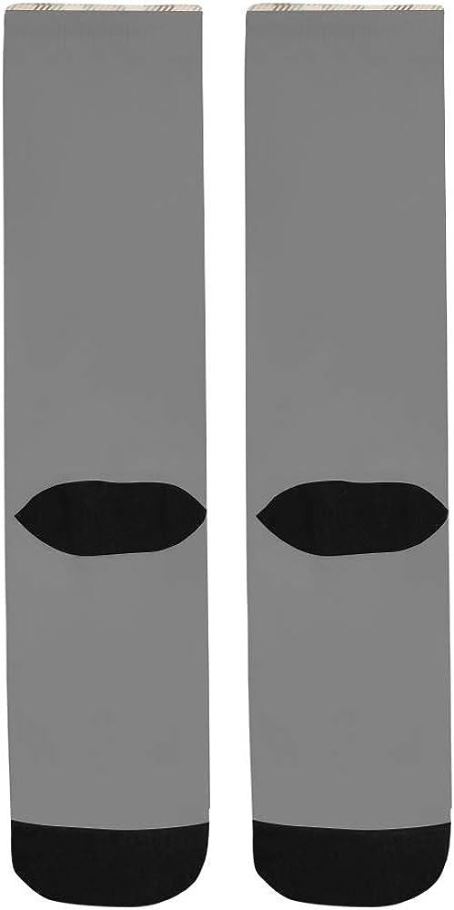 Tartan Sstyle Plaid Pattern Design Crazy Dress trouser Sock For Men Women kid