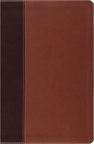 ESV VERSE BY VERSE REF TRUTONE BROWN CORDOVAN