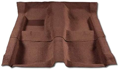 CHRYSLER TOWN & COUNTRY VAN CARPET COMPLETE STOW & GO SEATS MODEL - 1PC MOLDED PASSENGER - NO HEEL PAD AND 1PC MOLDED CARGO AREA. DOES NOT INCLUDE COVERS OR WELLS FOR THE STOWING AREAS. - RED (2005 05 2006 06 2007 07 - Country Van Carpet