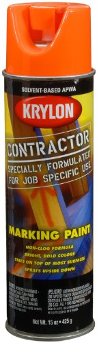 krylon-k07306000-solvent-based-contractor-marking-spray-paint-apwa-bright-orange-15-ounce