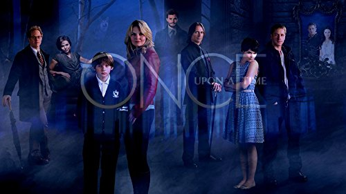 XXW Artwork Once Upon a Time Season 4 Poster Emma Swan/Henry Mills/Mary Margaret Prints Wall Decor Wallpaper