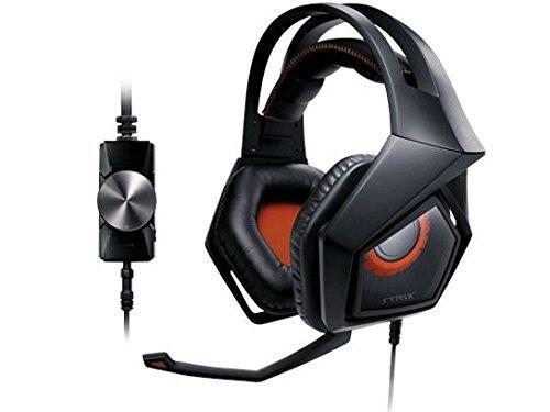 ASUS Strix Pro Gaming Headset, Orange (Certified Refurbished)
