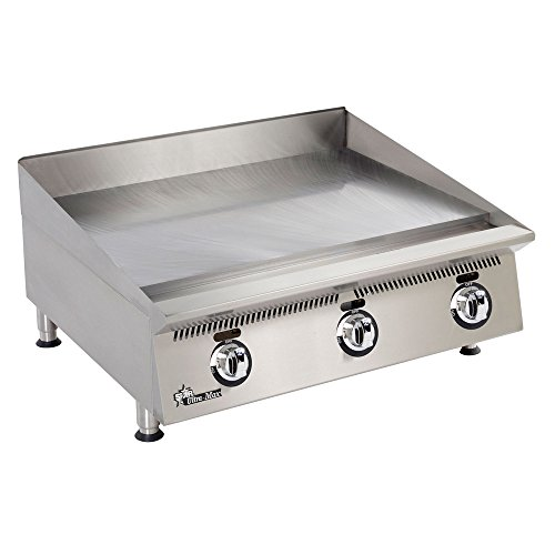 Star 836MA Ultra-Max Countertop 36'' Gas Griddle by Star Manufacturing
