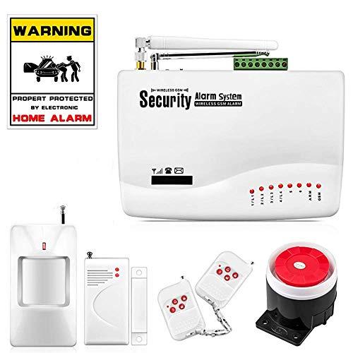 Sistema De Alarma Antirrobos Gsm Inalámbrico Smart Home Detector De Garaje Sensor De Movimiento Rusia Voz Protección De...