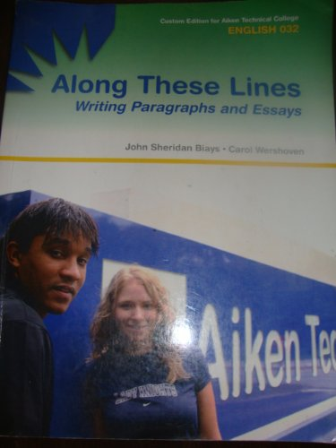 along these lines writing paragraphs and essays 6th edition Along these lines prepares students for the writing expectations of future  courses by providing thorough, step-by-step instruction concerning the writing  process.