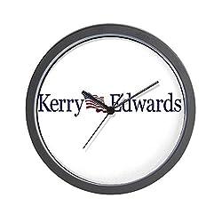 CafePress - John Kerry - John Edwards Wall Clock - Unique Decorative 10 Wall Clock