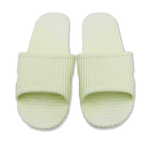 Unisex Anti-Slip Bath Slipper Indoor Floor Slipper (Green)