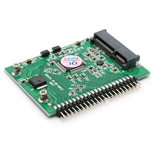 Mini Pcie Msata Ssd To Ide 2.5 5v 44pin Adapter Card
