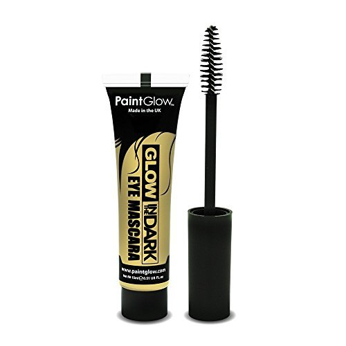 PaintGlow Glow In The Dark Eye Mascara, Neon Invisible 15 ml by paintglow