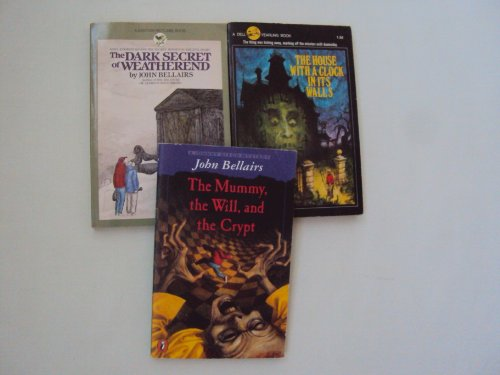 John Bellair Book Set: The Mummy, the Dark Secret of Weatherend - the House with a clock in its walls (An Unofficial Box Set)
