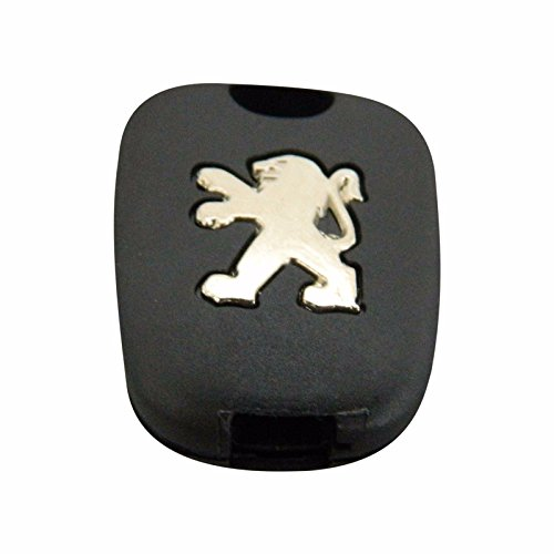 Bross BDP514 Simplex Type 2-Button Remote Key Housing Case Cover For Peugeot 107 207 307 407 106 206 306 406