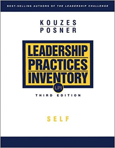 The leadership practices inventory lpi self instructions james m the leadership practices inventory lpi self instructions 3rd edition fandeluxe Image collections