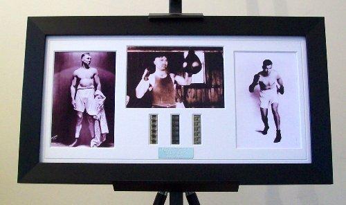 - Jack Dempsey Framed Vintage Boxing Memorabilia
