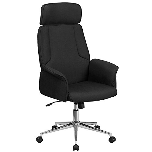 Upholstered Seat Swivel Chair - 7