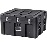 Monoprice Rotomodeled Weatherproof Case - Black (31 x 26 x 18 inches) - Pure Outdoor Collection