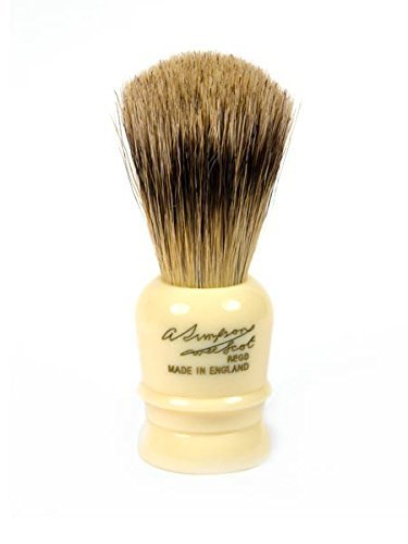 Price comparison product image Wee Scot Best Badger Shave Brush 70mm shave brush by Simpson