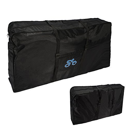 Bicycle Travel Case Review (Folding Bike Bag , LOPEZ 26-inch Cycling Bicycle Transport Travel Carry Bag Carrier Storage Pouch Case Loading Oxford Thick Package Bags)