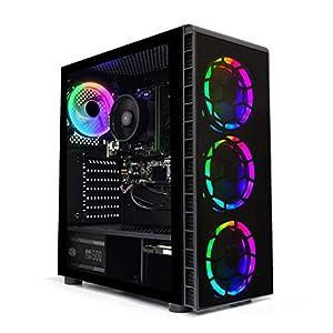 ADMI Gaming PC Ryzen 3400G 4.2Ghz, 8GB 2666MHz, 1TB HDD, 300Mbps WIFI, Windows 10
