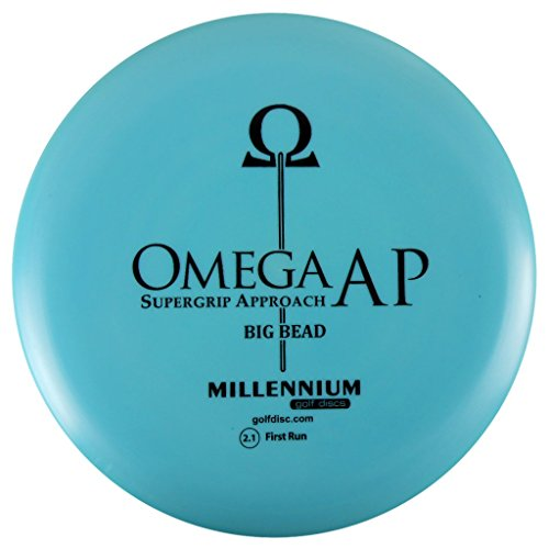 Millennium Omega AP Big Bead Putter Golf Disc [Colors may vary] - - Disc Omega