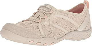 Skechers Women's Relaxed Fit¿: Breathe Easy - Elegant Glow Natural 8.5 B US (B07GPN4ZL6) | Amazon price tracker / tracking, Amazon price history charts, Amazon price watches, Amazon price drop alerts