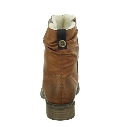 Rieker Z4180, Botas para Mujer Marrón (Cayenne/kastanie)