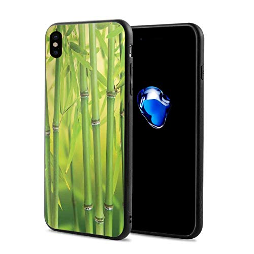 Phone Case Cover Compatible with iPhone X XS,Close Up of Bamboo Sprouts Stems Nature in Tropical Rain Forest Wildlife Asian Feng Shui,Compatible with iPhone X/XS 5.8