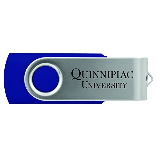 Quinnipiac University -8GB 2.0 USB Flash Drive-Blue