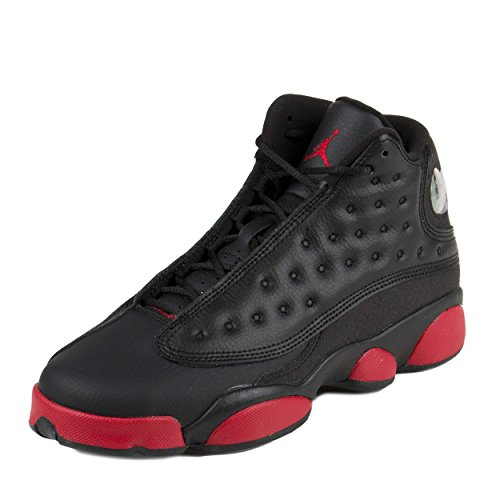 "Boys' Nike Air Jordan 13 Retro BG ""Barons"" Basketball Shoes - 414574 115 - 41T8MWoBvQL - Boys' Nike Air Jordan 13 Retro BG ""Barons"" Basketball Shoes – 414574 115"