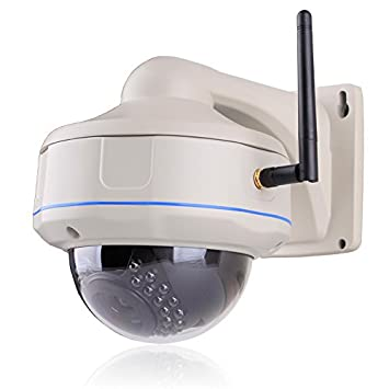 ANRAN 1280*720P HD Outdoor IP PoE Security Camera Onvif Network Vandalproof Dome