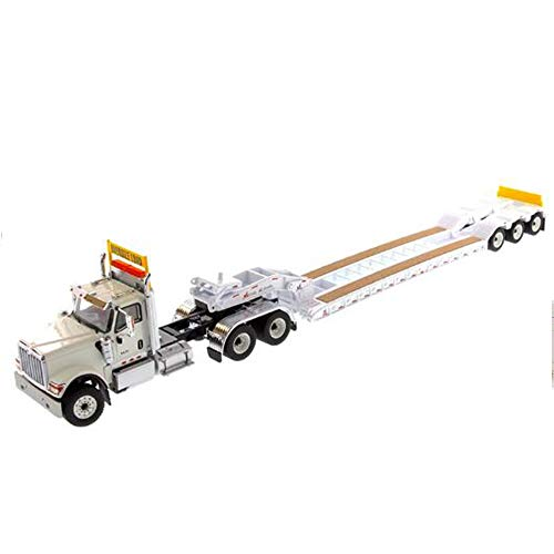 Model toy 1:50 Scale HX520 Heavy-Duty diecast Metal Construction of Both Trucks and Trailers with XL120 Low ()