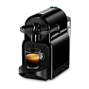 DeLonghi Nespresso Inissia EN 80b-cafetera di capsule, 19bar, compatta, spegnimento automatico, colore: Black