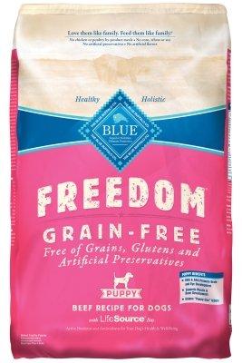 Blue Buffalo Blue Freedom Pup Beef Grain Free Bag, 24 lb.