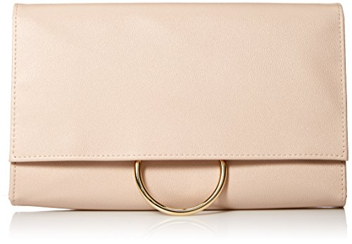 Jessica-McClintock-Nora-Solid-Large-Envelope-Clutch-with-Ring-Closure