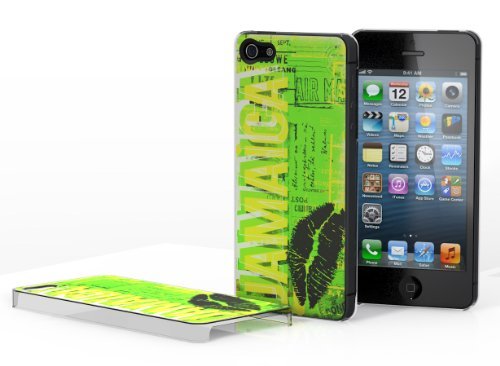 Master case - Coque iPhone 5 Lips Flag - Jamaïque