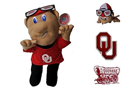 "OU Sooners NCAA Football 14"" Plush Mascot - Collectible"