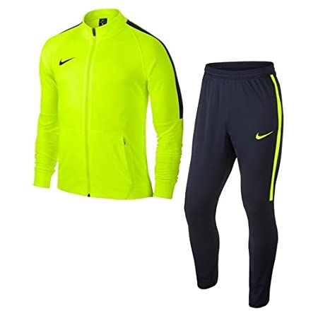 classic shoes buying new sneakers Survêtement Unisexe Nike Dry-Fit Squad 17 enfant jaune fluo/marine