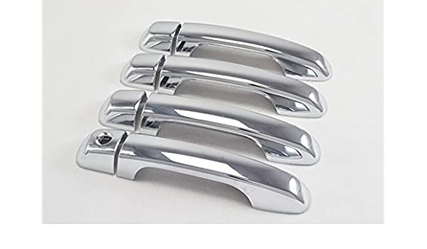 YUZHONGTIAN Chrome Car Door Handle Cup Bowl Cover Trim for Hyundai Elantra 2012 2013 2014 2015 2016