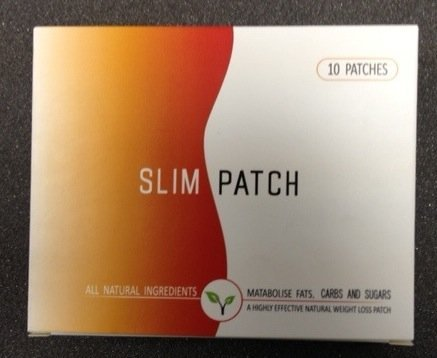Slim Patch 10 Patches - Strongest Natural Weight Loss Patch - Lose Weight While You Sleep - Clinically Proven To Suppress Appetite & Increase Metabolic Rate - Perfect Diet Pads