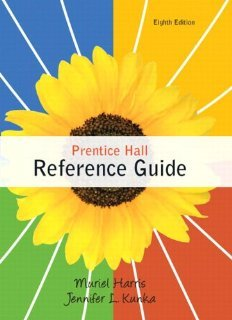 Download Prentice Hall Reference Guide with NEW MyCompLab with eText -- Access Card Package (8th Edition) [Spiral-bound] [2012] 8 Ed. Muriel G. Harris Professor Emerita, Jennifer Kunka pdf epub